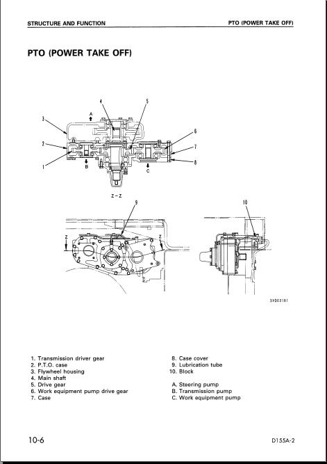 کتاب تعمیرات بلدوزر کوماتسو