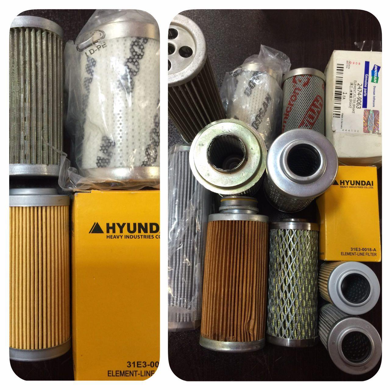 فیلتر لودر کوماتسو WA700-3 ژاپن با بالاترین کیفیت